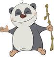 Bear Panda Cartoon vector image