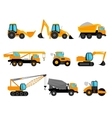 Building construction machinery equipment vector image