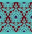 ottoman turkish style floral seamless pattern vector image