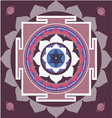 spring yantra of Saturn vector image