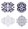Set with design elements vector image vector image