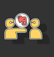 elephant evernote logo vector image