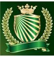 heraldic symbol vector image