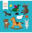 Toys Animals vector image