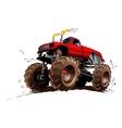 Cartoon Monster Truck vector image vector image