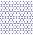 Seamless hexagons texture vector image vector image