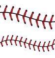 Baseball Lace Background7 vector image