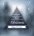 Merry Christmas Design 2 vector image