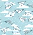 Paper plans vector image