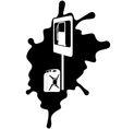 Petrol Station 1 vector image