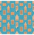 Old City seamless pattern vector image