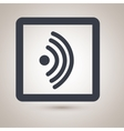 wifi signal icon design vector image