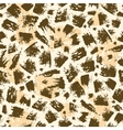 Animal brush stroke seamless pattern background vector image