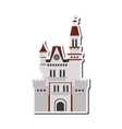 large castle icon vector image
