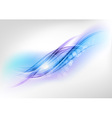 abstract blue vector image vector image
