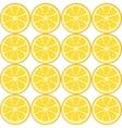 seamless orange pattern vector image vector image