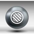 Apps metal-carbon icon carbon fiber black vector image
