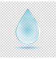 water drop image vector image