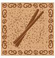 cinnamon sticks vector image
