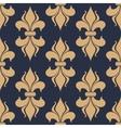Classic French fleur-de-lis seamless pattern vector image