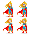 wonder girl vector image