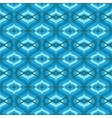 Pattern with Arabic motifs in shades of blue vector image