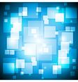 Blue colourful background vector image vector image