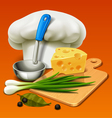 cooking icon vector image vector image