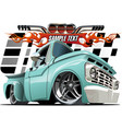 Cartoon Lowrider vector image vector image