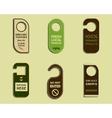 Stylish Farm Fresh brand door badge sticker vector image