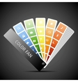 Color fan  Background vector image vector image