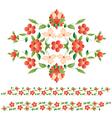 elegant motifs vector image