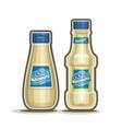 mayonnaise bottles vector image