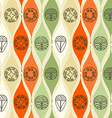 Abstract seamless pattern Modern style motif vector image