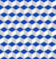 geometric seamless pattern blue vector image