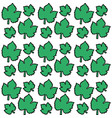 green leaves grape seamless pattern design vector image