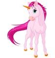 baby unicorn vector image