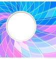 Abstract background Round frame vector image