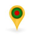 Location Bangladesh vector image