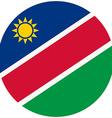 Namibia flag vector image