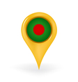 Location Bangladesh vector image