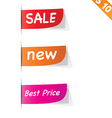 Sign sticker tag - - EPS10 vector image
