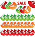 Bright Sale Stickers vector image