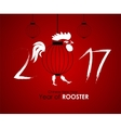 Chinese Calendar for the 2017 Year of Rooster vector image vector image