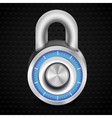 combination lock vector image vector image