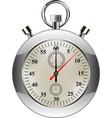 stopwatch classic stopwatch vector image