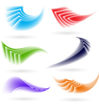 Abstract colorful shapes vector image vector image