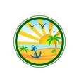 Beach-Club-Logo-380x400 vector image vector image