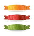 Color ribbon set vector image