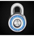 combination lock vector image